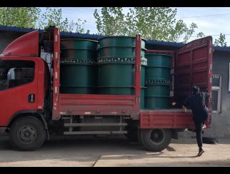 国标柔性防水套管装车现场